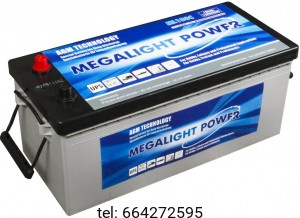 Akumulator AGM Megalight  Power 180 Ah