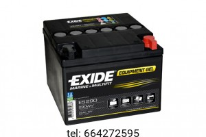Akumulator Exide Equipment Gel ES290 12V 25 AH 290Wh