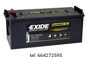 Akumulator Exide Equipment Gel ES1600 12V 140 AH 1600Wh