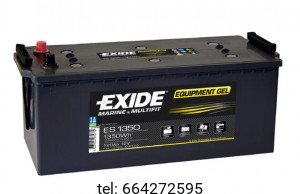 Akumulator Exide Equipment Gel ES1350 12V 120 AH 1350Wh